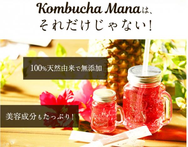 コンブチャマナ~KombuchaMana,成分