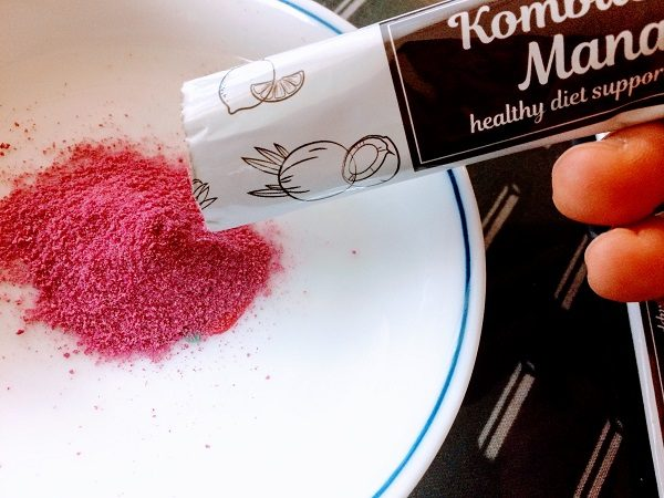 コンブチャマナ、粉
