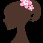 女性シルエット1